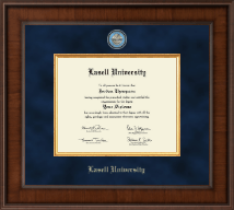 Lasell University Diploma Frame - Presidential Masterpiece Diploma Frame in Madison