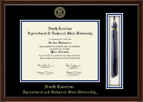 North Carolina A&T State University Diploma Frame - Tassel Edition Diploma Frame in Delta