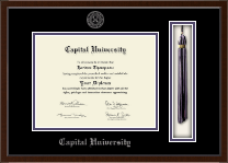 Capital University Diploma Frame - Tassel Edition Diploma Frame in Omega