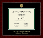 Florida A&M University Diploma Frame - Gold Engraved Medallion Diploma Frame in Sutton