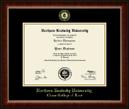 Northern Kentucky University Diploma Frame - Gold Embossed Diploma Frame in Murano