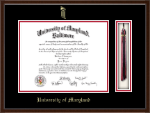University of Maryland Baltimore Diploma Frame - Tassel Edition Diploma Frame in Delta