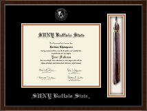 Buffalo State College Diploma Frame - Tassel Edition Diploma Frame in Delta