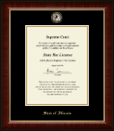 State of Illinois Certificate Frame - Masterpiece Medallion Certificate Frame in Murano