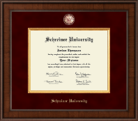 Schreiner University Diploma Frame - Presidential Masterpiece Diploma Frame in Madison