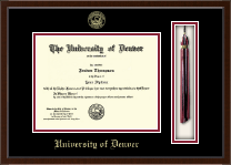 University of Denver Diploma Frame - Tassel Edition Diploma Frame in Delta