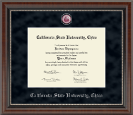 California State University Chico Diploma Frame - Regal Edition Diploma Frame in Chateau