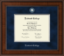 Endicott College Diploma Frame - Presidential Masterpiece Diploma Frame in Madison