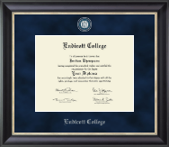Endicott College Diploma Frame - Regal Edition Diploma Frame in Noir