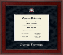 Chapman University Diploma Frame - Presidential Masterpiece Diploma Frame in Jefferson