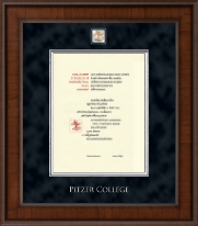 Pitzer College Diploma Frame - Presidential Masterpiece Diploma Frame in Madison