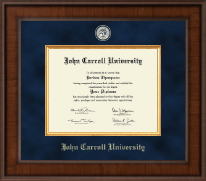 John Carroll University Diploma Frame - Presidential Masterpiece Diploma Frame in Madison