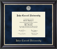 John Carroll University Diploma Frame - Regal Edition Diploma Frame in Noir