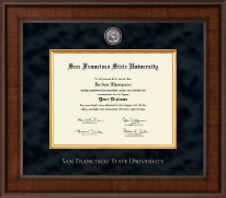 San Francisco State University Diploma Frame - Presidential Masterpiece Diploma Frame in Madison