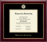 Valparaiso University Diploma Frame - Masterpiece Medallion Diploma Frame in Gallery
