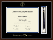 University of Baltimore Diploma Frame - Tassel Edition Diploma Frame in Delta