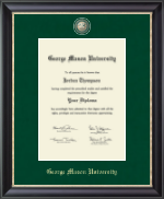 George Mason University Diploma Frame - Regal Edition Diploma Frame in Noir