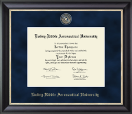 Embry-Riddle Aeronautical University Diploma Frame - Regal Edition Diploma Frame in Noir