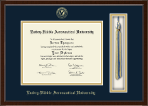 Embry-Riddle Aeronautical University Diploma Frame - Tassel Edition Diploma Frame in Delta