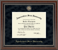 Appalachian State University Diploma Frame - Regal Edition Diploma Frame in Chateau