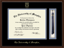 The University of Memphis Diploma Frame - Tassel Edition Diploma Frame in Delta