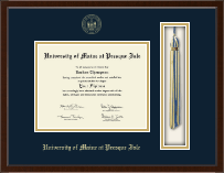 University of Maine at Presque Isle Diploma Frame - Tassel Edition Diploma Frame in Delta