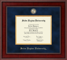 Salve Regina University  Diploma Frame - Presidential Masterpiece Diploma Frame in Jefferson