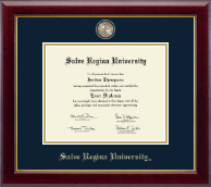 Salve Regina University  Diploma Frame - Masterpiece Medallion Diploma Frame in Gallery
