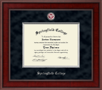 Springfield College Diploma Frame - Presidential Masterpiece Diploma Frame in Jefferson