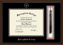 Springfield College Diploma Frame - Tassel Edition Diploma Frame in Delta