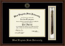 West Virginia State University Diploma Frame - Tassel Edition Diploma Frame in Delta