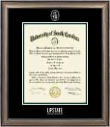 University of South Carolina Upstate Diploma Frame - Silver Embossed Diploma Frame in Easton