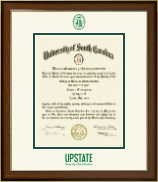 University of South Carolina Upstate Diploma Frame - Dimensions Diploma Frame in Westwood