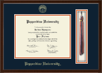 Pepperdine University Diploma Frame - Tassel Edition Diploma Frame in Delta