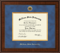 McNeese State University Diploma Frame - Presidential Gold Engraved Diploma Frame in Madison