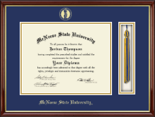 McNeese State University Diploma Frame - Tassel Edition Diploma Frame in Southport Gold