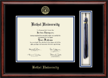 Bethel University Indiana Diploma Frame - Tassel Edition Diploma Frame in Southport