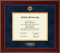Cabrini University Diploma Frame - Presidential Gold Engraved Diploma Frame in Jefferson