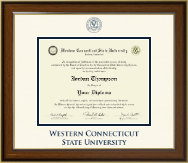 Western Connecticut State University Diploma Frame - Dimensions Diploma Frame in Westwood