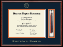 Houston Baptist University Diploma Frame - Tassel Edition Diploma Frame in Southport