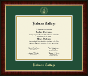 Babson College Diploma Frame - Gold Embossed Diploma Frame in Murano