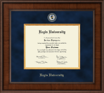 Regis University Diploma Frame - Presidential Masterpiece Diploma Frame in Madison