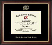 Roy C. Ketcham High School in New York Diploma Frame - Gold Embossed Diploma Frame in Studio Gold