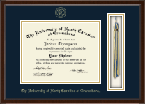 The University of North Carolina Greensboro Diploma Frame - Tassel Edition Diploma Frame in Delta