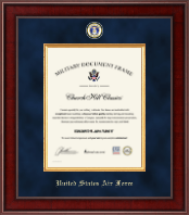 "11""x14"" Vertical- Presidential Masterpiece Certificate Frame"