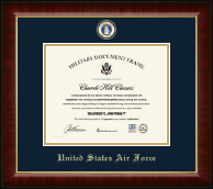 "8""x10"" Horizontal- Masterpiece Medallion Certificate Frame"