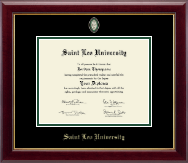Saint Leo University Diploma Frame - Masterpiece Medallion Diploma Frame in Gallery