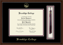 Brooklyn College Diploma Frame - Tassel Edition Diploma Frame in Delta