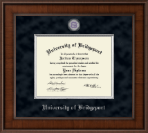 University of Bridgeport Diploma Frame - Presidential Masterpiece Diploma Frame in Madison