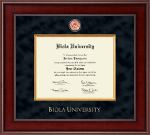Biola University Diploma Frame - Presidential Masterpiece Diploma Frame in Jefferson